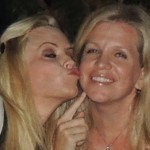 Jenny McCarthy kissing SurferWife