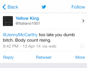 Jenny McCarthy Bad Tweet 3