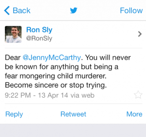 Jenny McCarthy Bad Tweet 4